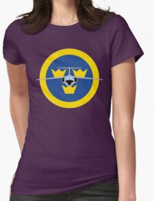SAAB 105 Womens Fitted T-Shirt