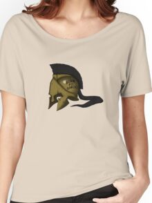 Spartan Helmet! Born to Haroo! Women's Relaxed Fit T-Shirt