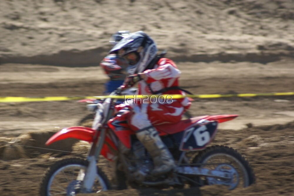 Honda Red Rider Putting on the Heat! So. Calif., U.S.A. by leih2008