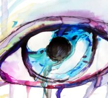 Water Color Eye Sticker