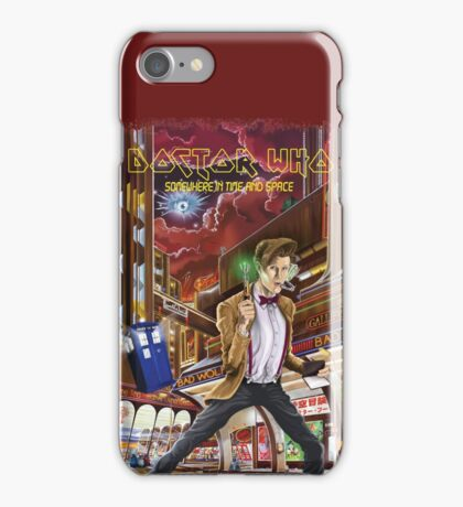 Somewhere in Time and Space iPhone Case/Skin
