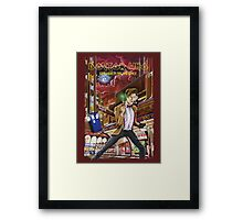 Somewhere in Time and Space Framed Print