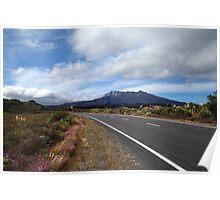 Mt Ruapahu, N.Z. Poster