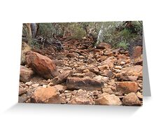 Gums and red rocks Greeting Card