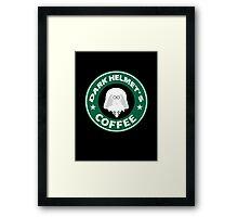 Lord Helmet's Coffee Framed Print