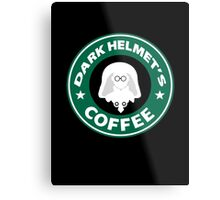 Lord Helmet's Coffee Metal Print