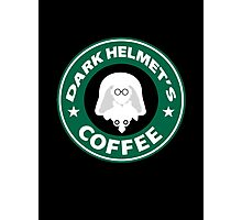 Lord Helmet's Coffee Photographic Print