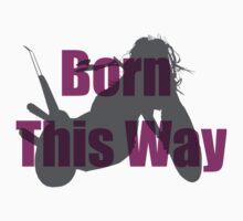 Born This Way Silhouette Kids Tee