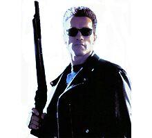 Terminator Arnold Schwarzenegger Photographic Print