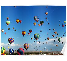 The Sky Is my Circus ! What a way to FLY ! Poster