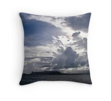 Micronesian Rain Throw Pillow