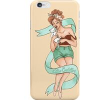 kitten cuddler iPhone Case/Skin
