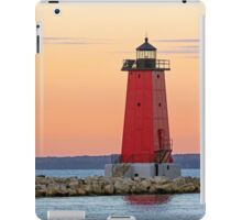 Morning at Manistique Lighthouse iPad Case/Skin