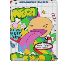 Mega Licker! [Cartridge Sleeve Art Work]. iPad Case/Skin