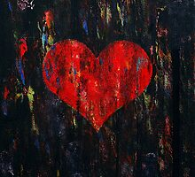 Red Heart by Michael Creese