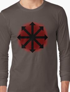 Red Chaos Long Sleeve T-Shirt