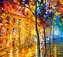 House By The Heart — Buy Now Link - www.etsy.com/listing/218008534 by Leonid  Afremov