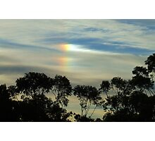 """Rainbow Out of the Blue"""".. Photographic Print"""
