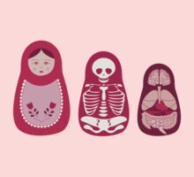 Inside out - Russian Matryoshka dolls Kids Clothes