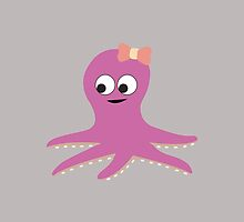 Cute Girl Octopus by Eggtooth