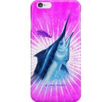 BLACK MAGIC PINK- Black Marlin iPhone Case/Skin