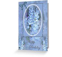 blues Greeting Card