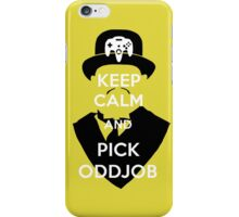 Pick Oddjob iPhone Case/Skin