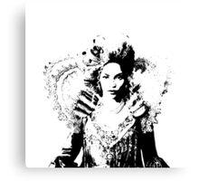 DIVA II (white) Canvas Print