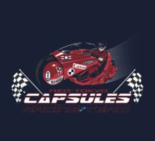 Neo-Tokyo Capsules- Akira Shirt by spacemonkeydr
