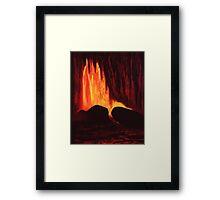 Hawaiian Lava Flow Framed Print