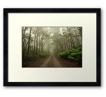 Mysterious Road Framed Print