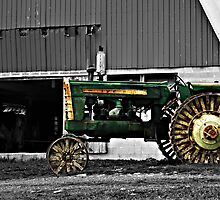 Old Amish Tractor by Jamie  Fox