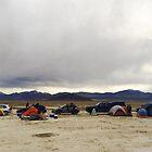 Desert car camping by Brent Olson