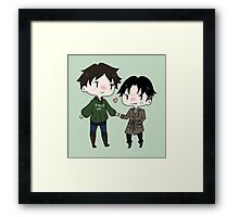 I Guess You Can Hold My Hand Framed Print