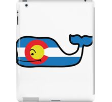 Colorado Themed Vineyard Vines Whale iPad Case/Skin