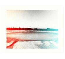 Digital Landscape #10 Art Print