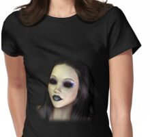 Goth Girl Tee Womens Fitted T-Shirt