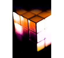 Rubix Cube - Lenbaby gradient effects Photographic Print