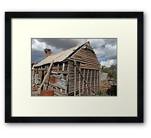 Winery shack Framed Print