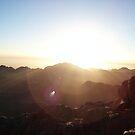 Dawn on Sinai by Marmadas