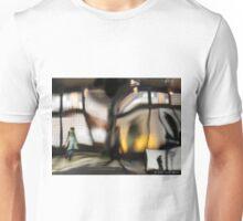 NYC Subway Station Multiple exposure Unisex T-Shirt