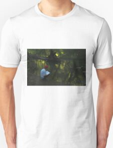 Boy by pond T-Shirt