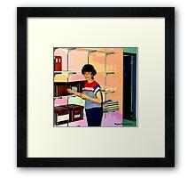 May I Help You Framed Print