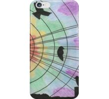 Birds on the wire iPhone Case/Skin