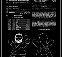 Talking Jesus Doll Patent - Black by FinlayMcNevin