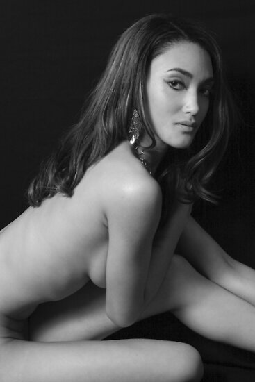 B&W Implied nude by Tom Miles