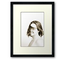 Hair. Framed Print