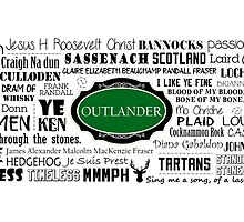 Outlander Mug (Green) by patee333