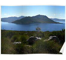 View to Lake Pedder #1 from Red Knoll Lookout Poster