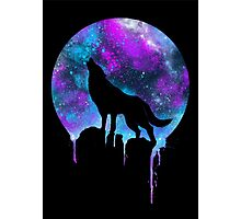 Space Howl Photographic Print